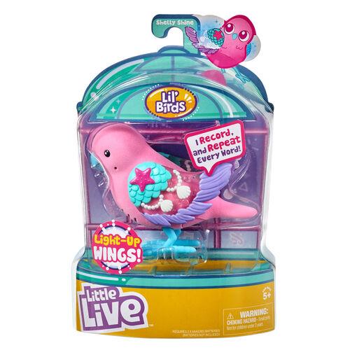Little Live Pets我的小寵物悄悄知音鳥-系列3 (閃亮貝殼)-隨機發貨