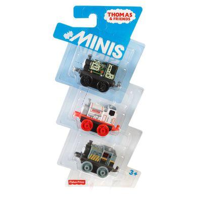 Thomas & Friends湯瑪士小火車迷你系列3包裝系列 - 隨機發貨