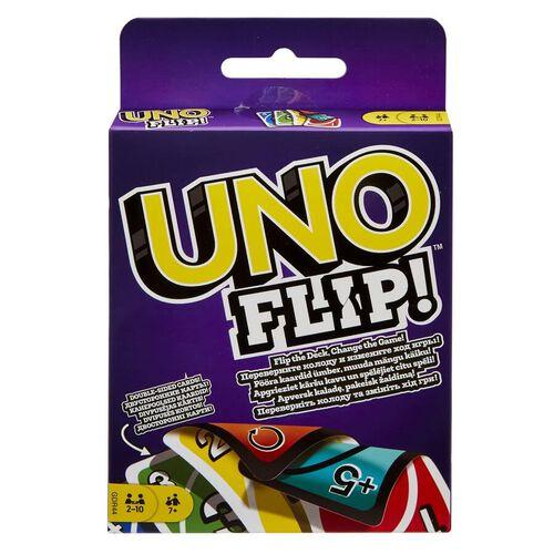 Uno遊戲咭flip雙面卡