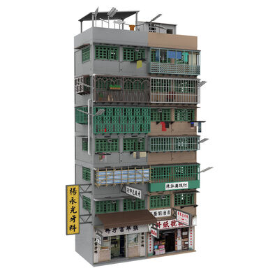 Tiny City Bd19 Kowloon Walled City Diorama