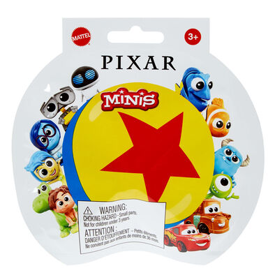 Disney迪士尼 Pixar Pixar 迷你模型系列驚喜包 - 隨機發貨
