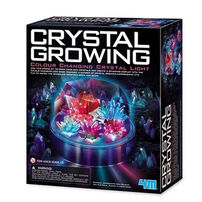 4M Crystal Growing Colour Changing Crystal Light