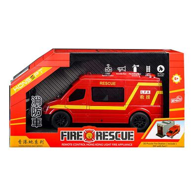 Konsept 1:20 2.4G Rc Hong Kong Fire Rescue Lfa