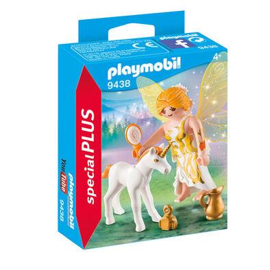 Playmobil摩比世界仙女仙子獨角獸