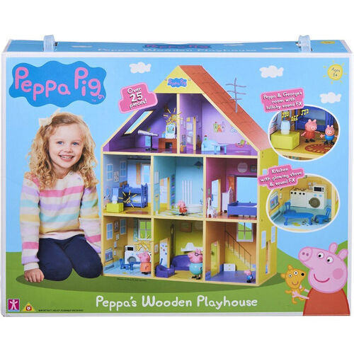 Character Options Peppa Pig Deluxe Wooden Playhouse