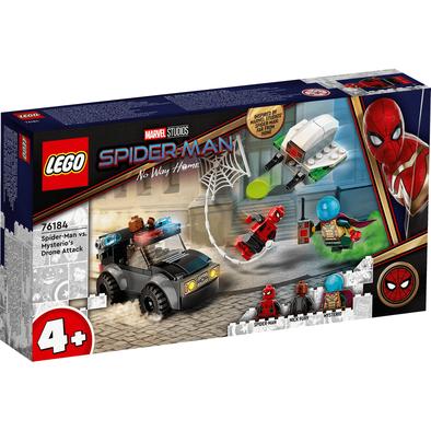 LEGO樂高漫威超級英雄系列 Spider-Man vs. Mysterio's Drone Attack 76184