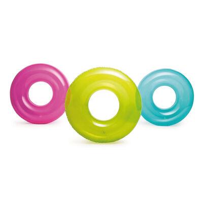 Intex 彩色泳圈(76公分) - 隨機發貨