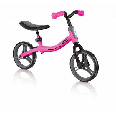 Globber高樂寶 Go Bike 幼兒平衡車 (黑/粉紅色)