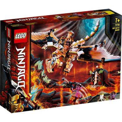 LEGO 胡師父戰龍 71718