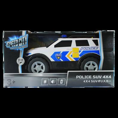 Speed City極速都市 警車 SUV 4X4