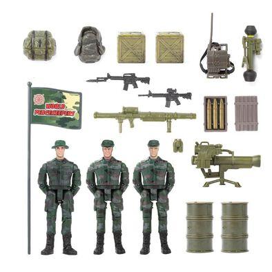 World Peacekeepers正義紅師 1:18系列 三人小隊 - 隨機發貨