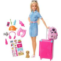 Barbie芭比旅行套裝