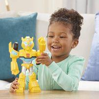 兒樂寶英雄transformers變形金剛救援機器人學院mega Mighties- 隨機發貨