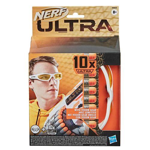 Nerf火極限系列 護目鏡及 10 枚 Nerf Ultra 彈鏢