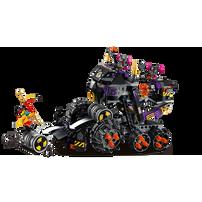LEGO樂高悟空小俠系列 牛魔暗黑戰車 80007