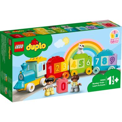 LEGO樂高得寶系列 數字火車 10954