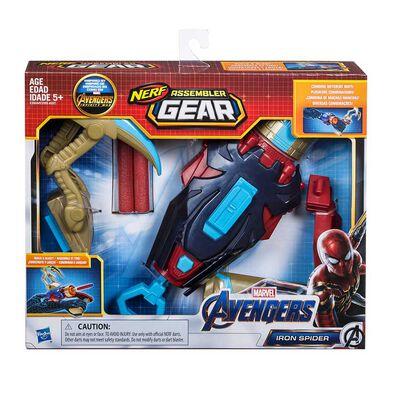 NERF熱火復仇者聯盟蜘蛛俠裝備發射器
