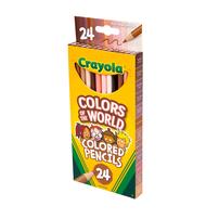 Crayola繪兒樂 世界色彩鉛筆24支裝