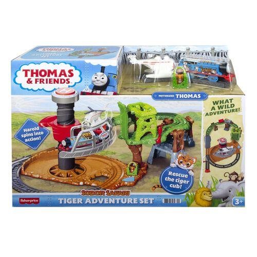 Fisher-Price Thomas & Friends Sodor Safari Tiger Adventure Set