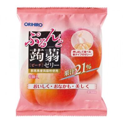 Orihiro 蒟蒻水蜜桃味 20G X6個獨立包裝