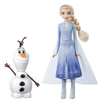 Disney Frozen迪士尼魔雪奇緣 2 發聲愛莎及小白