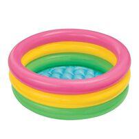 Intex 彩虹bb嬉水池