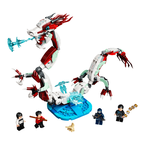 LEGO樂高漫威超級英雄系列 Battle at the Ancient Village 76177