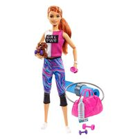 Barbie芭比健康生活組合連娃娃 - 隨機發貨