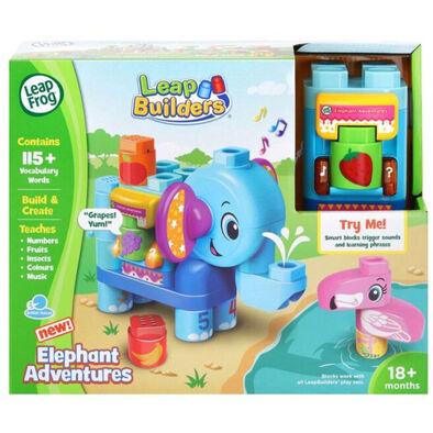 Leapfrog跳跳蛙 Leapbuilders 大象冒險積木套裝