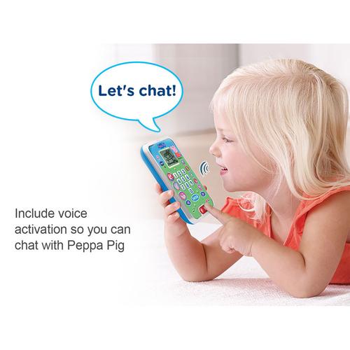 Vtech偉易達 小豬佩奇學習電話