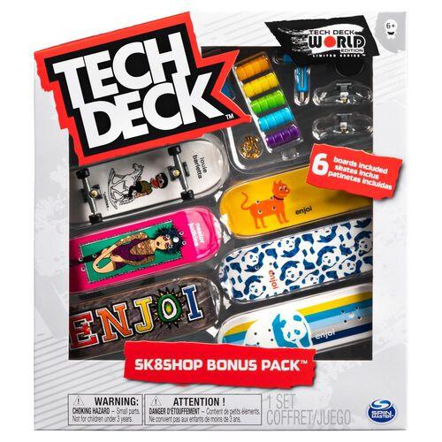 Tech Deck 手指滑板六入組 - 隨機發貨