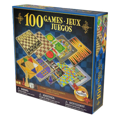 Pavilion 100款家庭裝遊戲