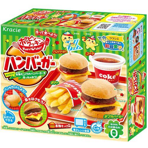 Kracie Foods 知育果子系列–食玩diy漢堡包套餐