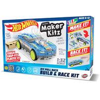 Hot Wheels風火輪 膠片組裝跑車單件裝 - 藍色