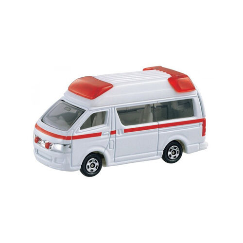 Tomica Bx079 Toyota High Medic Ambl. Car