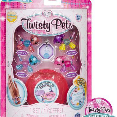 Twisty Petz寵物扭扭手鍊 寶寶迷你版4件裝 隨機發貨