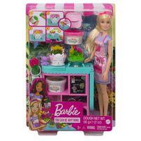 Barbie芭比 花藝師組合連娃娃