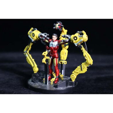 Marvel 1:35 Scale Model Iron Man MK IV Suit-Up Gantry
