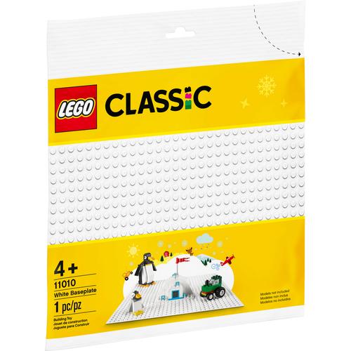 LEGO Classic 白色底板 11010