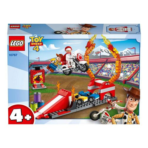 LEGO樂高反斗奇兵系列 LEGO Toy Story 4 Duke Caboom's Stunt Show 10767