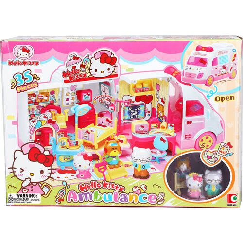 Sanrio三麗鷗 Hello Kitty 粉紅救護車