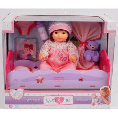 You & Me 14英寸嬰兒搖椅床