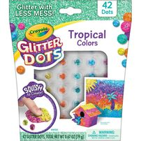 Crayola Glitter Dots Single Serve - Assorted