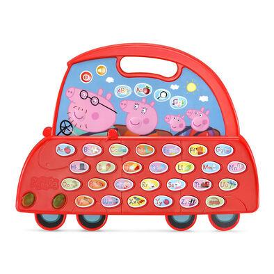 Vtech偉易達 小豬佩奇學習字母車
