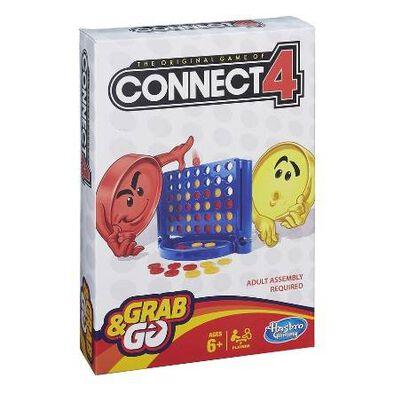 Hasbro Gaming孩之寶遊戲連環四子棋輕便版遊戲