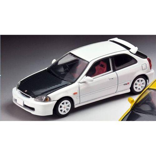 Tomica Tomytec Civic Type R (White) 97 Model Custom Version