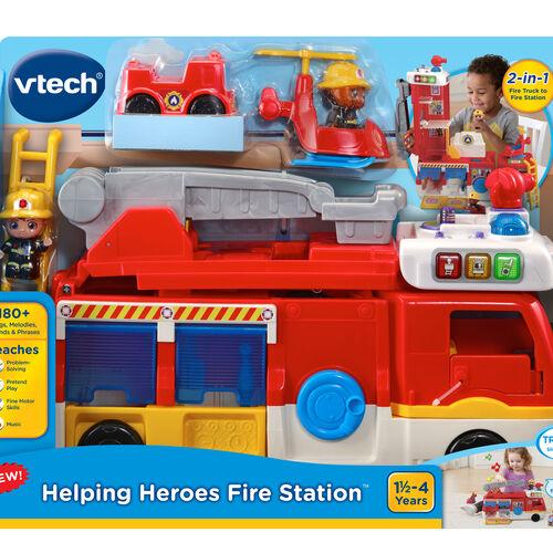 Vtech偉易達二合一醒目消防車