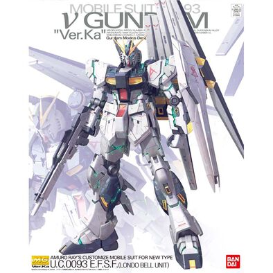 Bandai Mg 1/100 Nu Gundam Ver. Ka
