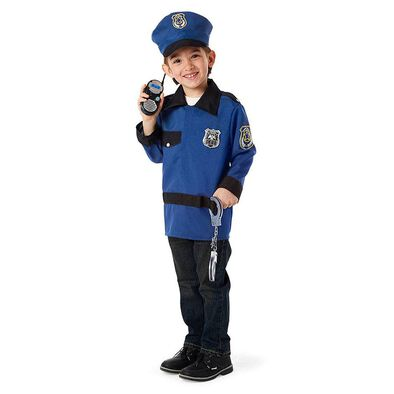 Universe Of Imagination Deluxe Police Officer Dress Up Costume