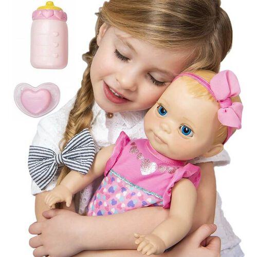 Luvabella甜心小蓓兒 初生寶寶 啡色頭髮